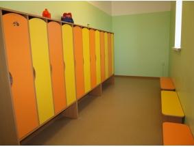 Мебель для раздевалки в детском садике