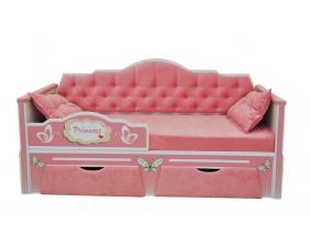 Мягкие детские кровати для мальчиков и девочек.