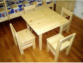 Мебель для детского сада из массива