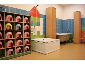 Туалетная комната в детском саду