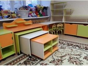 Новинки Модульной и составной мебели для дошкольных учреждений