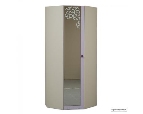 Юниор-5 (Цветочек) Шкаф для детского платья и белья угловой