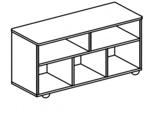 Стол-тумба удлинённая двусторонняя И.ДТ.15