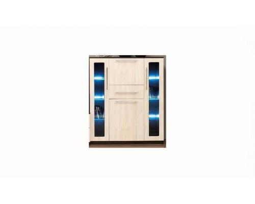 Шкаф (4 дв.+1ящ.) Горка-18 (1154х444х1380)