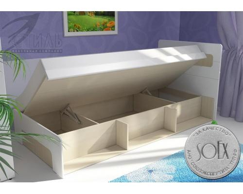 """Кровать с подъемным механизмом """"Палермо-Юниор"""" (903*960*2048)"""