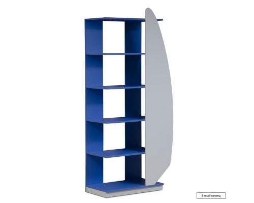 Юниор-4 (Парус) Шкаф для детских вещей (стеллаж)