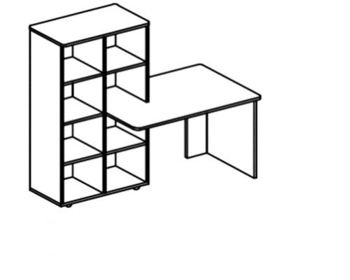 Уголок для развивающей деятельности (левый/правый) Р.1