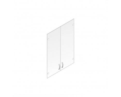 Стеклянная дверь Мнн.ДШ-2СБ