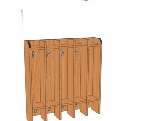 Вешалка настенная для полотенец В.дт.1