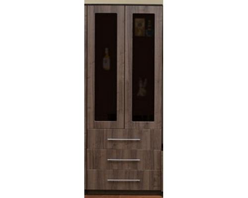 Шкаф для посуды Горка-18(2дв.+3ящ.)(800*2046*444)