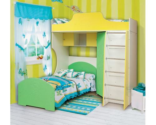Кровать комбинированная 2(800*1900) АДЖ