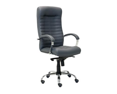Кресло руководителя Orion Steel Chrome (натуральная сплит кожа)