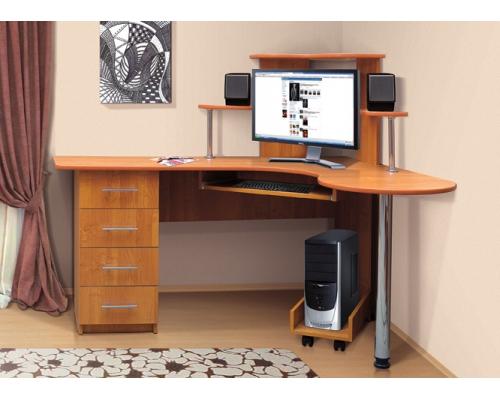 Стол компьютерный СКУ-4 (1270*1500) (ВРС)