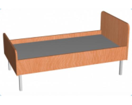 Кровать детская одноместная (на мет. ножках)