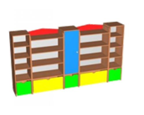 Шкаф-стенка для игрушек
