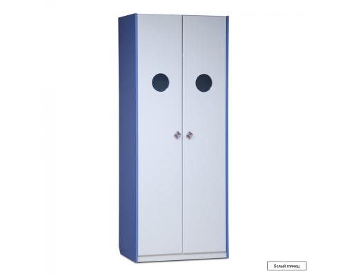 Юниор-4 (Парус) Шкаф для детского платья и белья