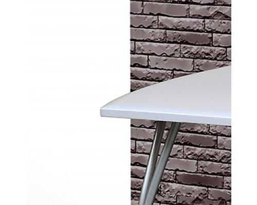 Стол обеденный 1300*800 мм на гнутых опорах