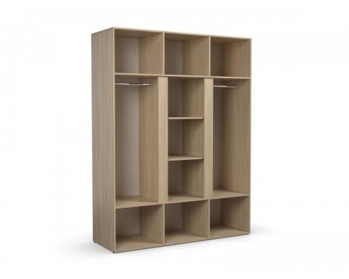 Шкаф 3-х створчатый «Палермо» (1600*540*2100) (ЭКО)