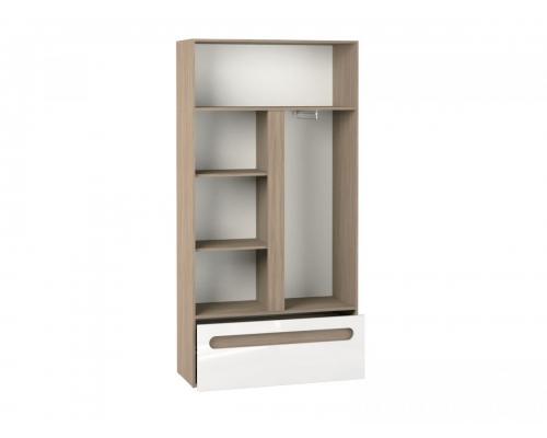 Шкаф 2-х ст с ящиком Палермо-Юниор (1068*426*2110) (ЭКО)