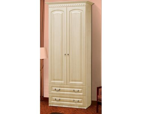 Шкаф 2-х двер. д/ платья с ящиками Гармония-4(800*520*2100)