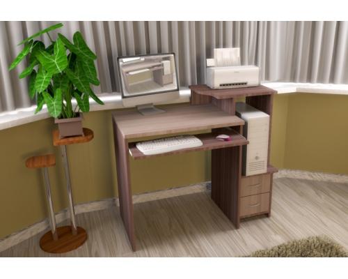 """Компьютерный стол """"Касабланка 3""""(1010 х 870 х 495)МГ МИ"""
