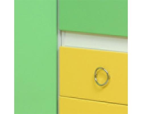 "Шкаф многоцелевой (3 ящика+1 дверь) М-2  ""Горка 3Д""(450х2030х440)АДЖ"