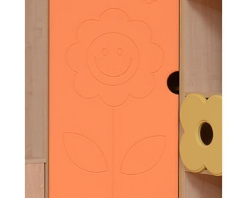 Шкаф-стеллаж угловой «СОЛНЫШКО»(561х2020х440)