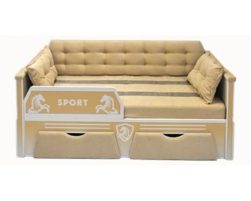 Мягкие детские кровати для мальчиков и девочек серии СПОРТ!
