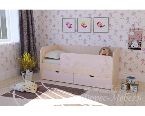 Кровать Бабочки  (1630*750*850)МГ ФРС