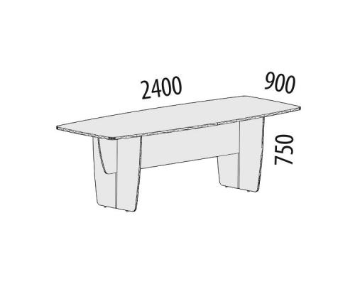 Стол для переговоров Альфа 63.08