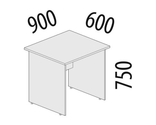Стол рабочий Альфа 61.20