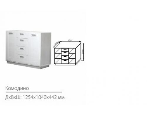 Комодино Волжанка(1254*1040*442)