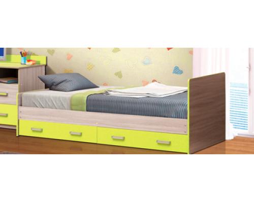 """Кровать с ящиками М-7 """"Горка 17Д""""(2052х740х970)АДЖ"""