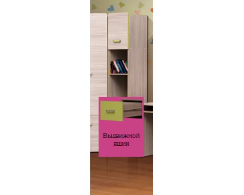 """Шкаф многоцелевой (1 ящик+2 двери) М-2 """"Горка 17Д""""(400х2070х440)АДЖ"""