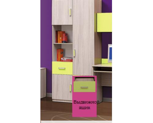 """Шкаф многоцелевой(3 ящика+3 двери) модуль №2. Из набора детской мебели """"Горка 9Д"""""""