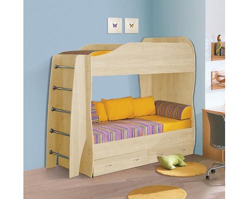 Детская двухъярусная кровать 800*2000