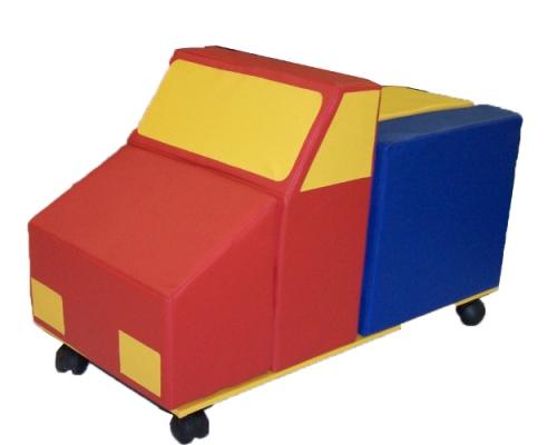 «Автомобиль» 5 элементов с креплениями на колесах