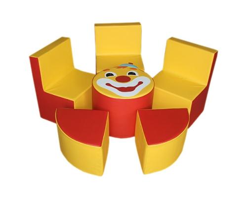«Клоун» комплект мягконабивной мебели