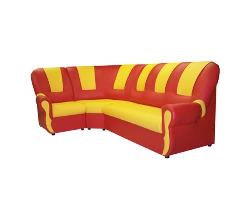 «Вита»  комплект мягкой угловой мебели - (3+1+3)
