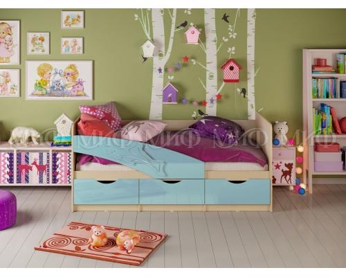 Кровать Дельфин мат. (1636 x 800 x 850)МГ МФ