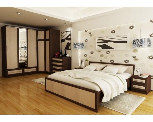 """Кровать """"Модерн"""" 1,2м. 1235x800x2035"""