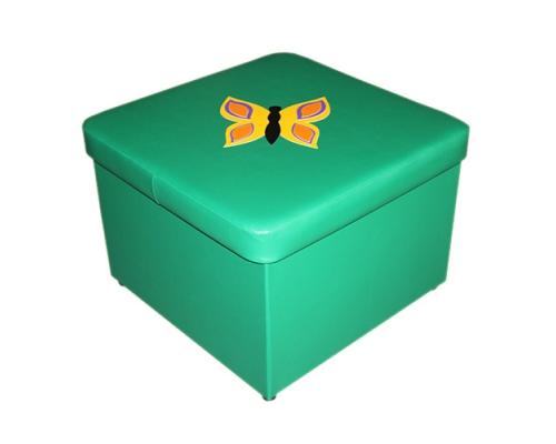 «Пуф квадратный»  (с ящиком для игрушек)