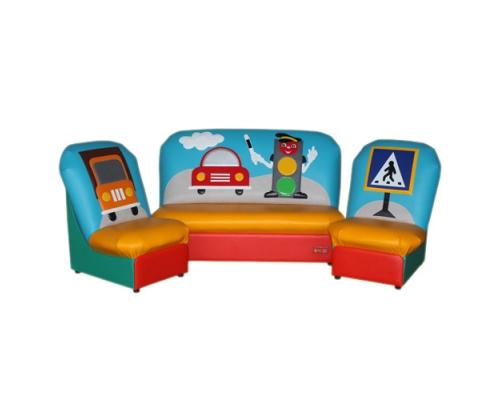 «Сказка» комплект мягкой мебели без подлокотников  (аппликация любая)