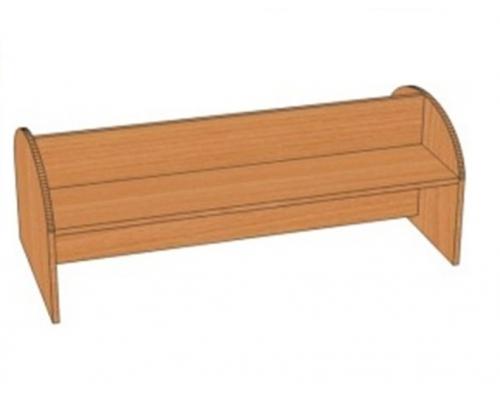 Скамья для раздевалки 2-сторонняя Т.дт.4 (1100*500*400)