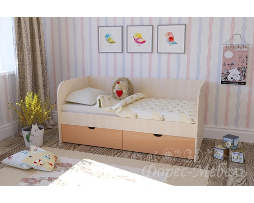 Кровать Мальвина (1632*750*850)МГ ФРС