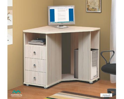 Стол для компьютера В-3 угловой (800х756х800) (МРЛЬ)