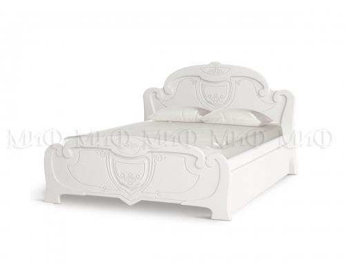 Кровать 1,4м  Мария МДФ краска ПВХ глянец