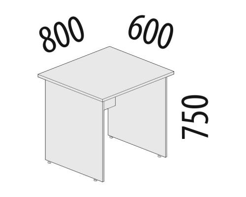 Стол рабочий Рубин 42.44