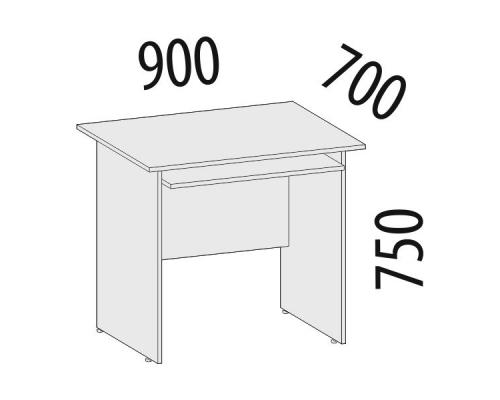 Стол компьютерный офисный Рубин 42.50