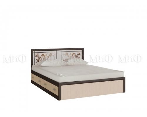 """""""Мальта"""" кровать 1,6м;  1,4м ( с ящиками)"""